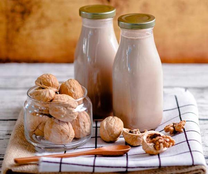 Sữa hạt là thức uống cần thiết trong Keto