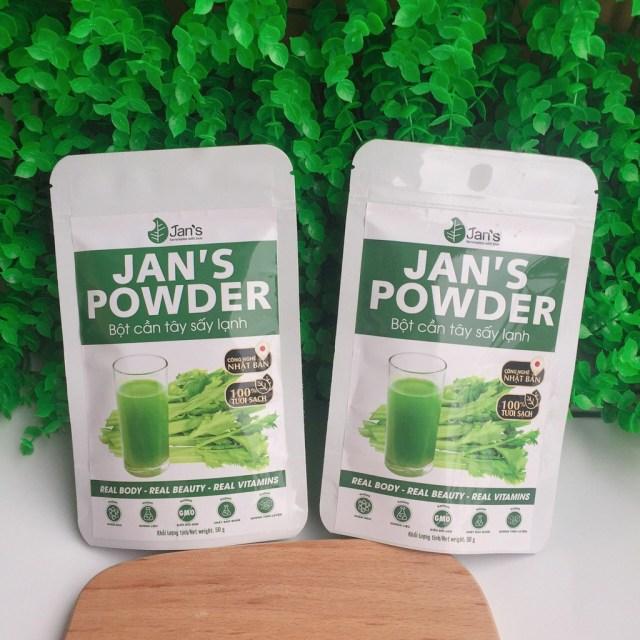 Bột cần tây Jans Powder