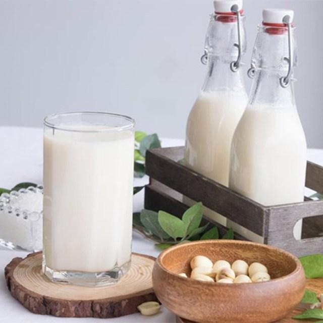 Sữa hạt giảm cân từ hạt sen