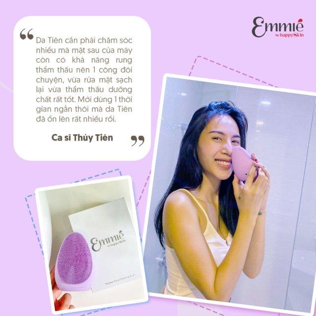Review máy rửa mặt Emmie của ca sĩ Thủy Tiên