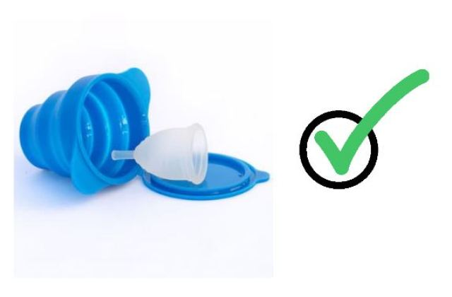 Cách vệ sinh cốc nguyệt san