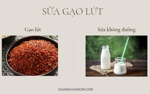 Sữa gạo lứt giảm cân