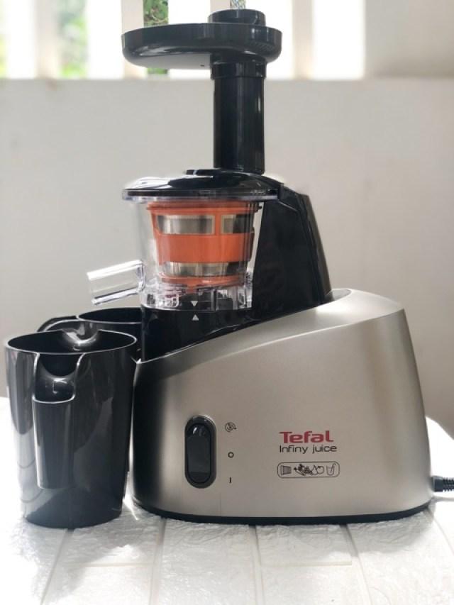 Review máy ép trái cây tốc độ chậm Tefal