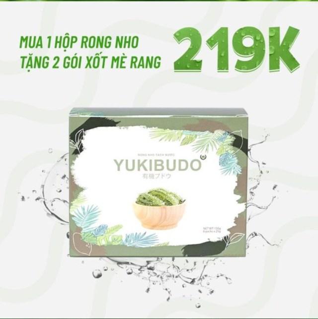 Giá rong nho Yukibudo bao nhiêu