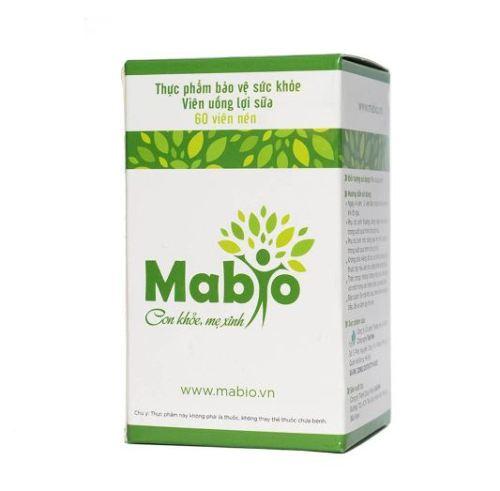 Giá bán viên uống lợi sữa Mabio chính hãng