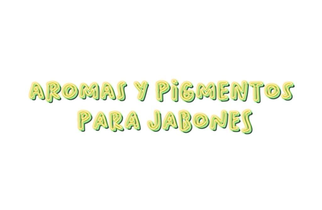 aromas y pigmentos