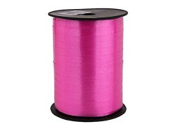 cinta para rizar de color rosa