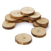 rodajas de madera para manualidades