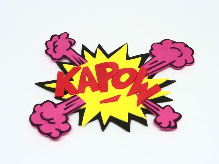 onomatopeya kapow