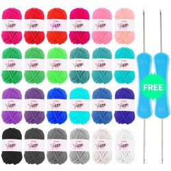 lana de colores