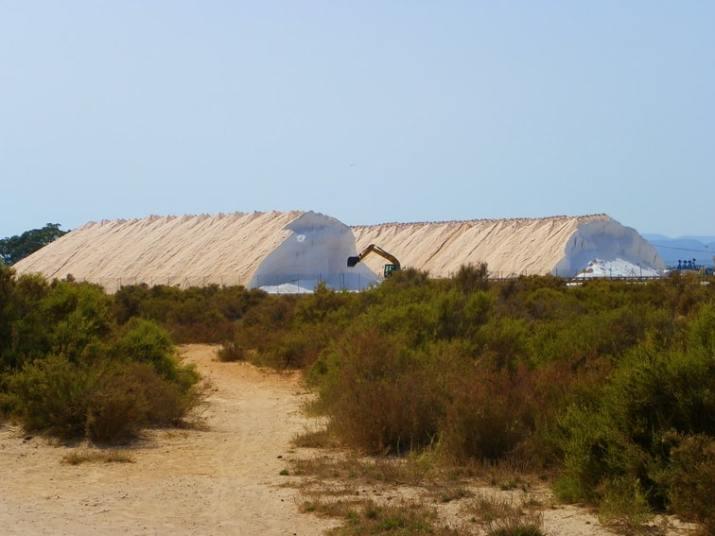 montañas de sal industria salinera