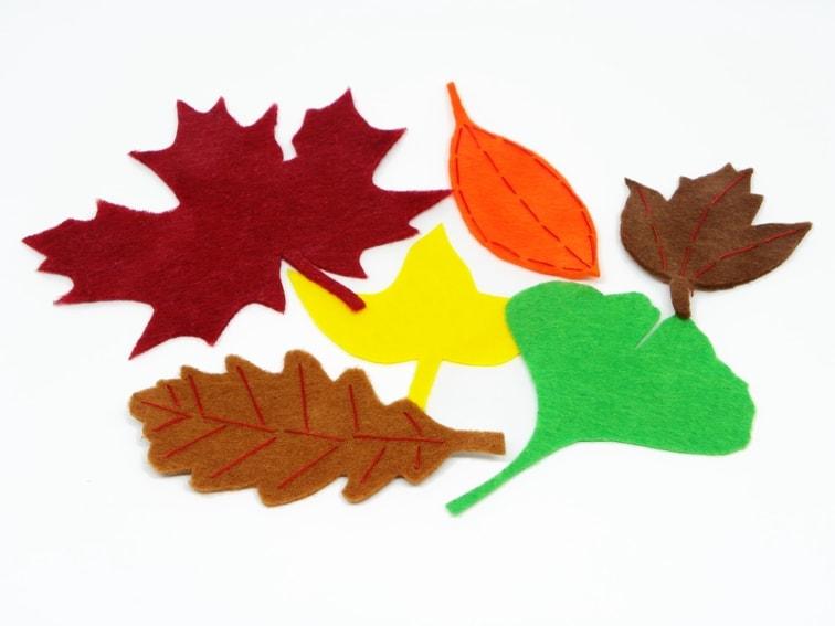 hojas decorativas