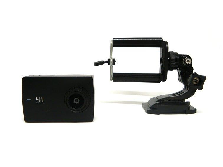 soporte casero para la cámara deportiva xiaomi yi discovery 4k
