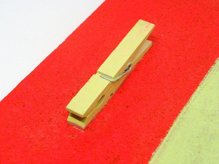 superficie del tablon para sujetar notas