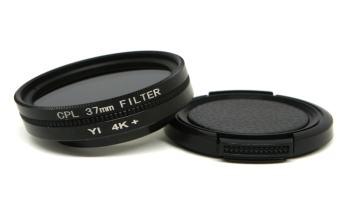 filtro polarizador circular de 37 mm para camara deportiva