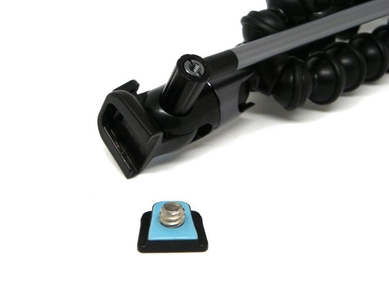 pieza de clip del tripode joby griptight gorillapod video magnetico