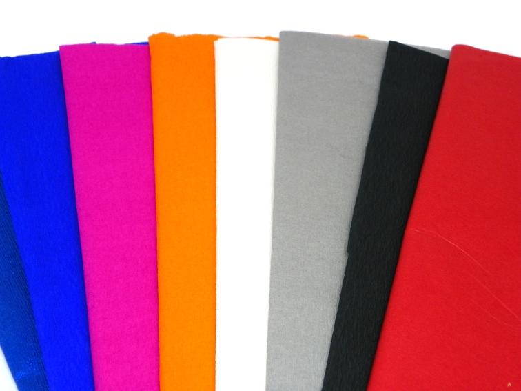 pale crespon y papel de seda para hacer una bandera koinobori