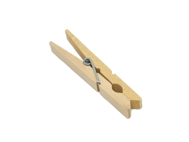 pinza de madera para tender la ropa para hacer colgante