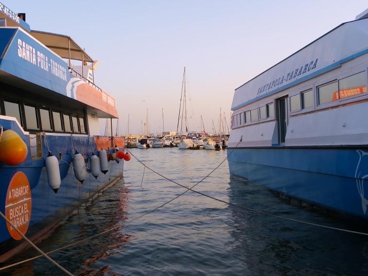 catamaranes para visitar la isla de tabarca santa pola