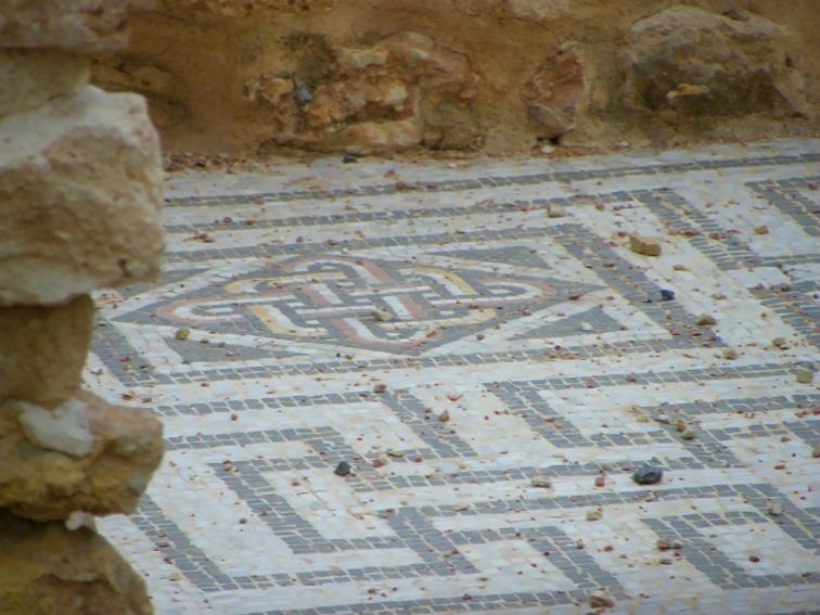 yacimiento arqueologico de una villa romana en santa pola