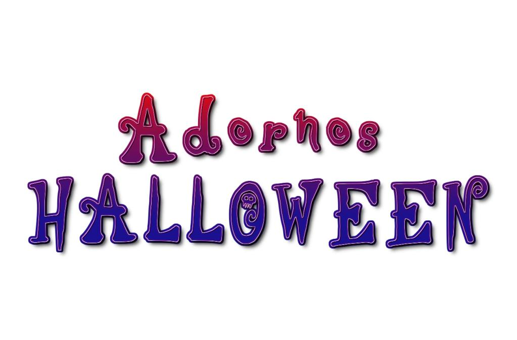 adornos para el dia de halloween
