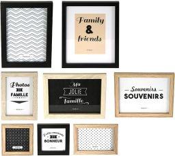 8 marcos para fotografias de madera y pvc