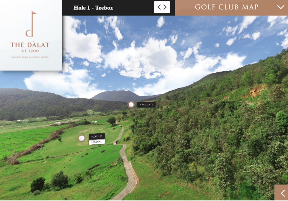 Sân golf The Dalat at 1200