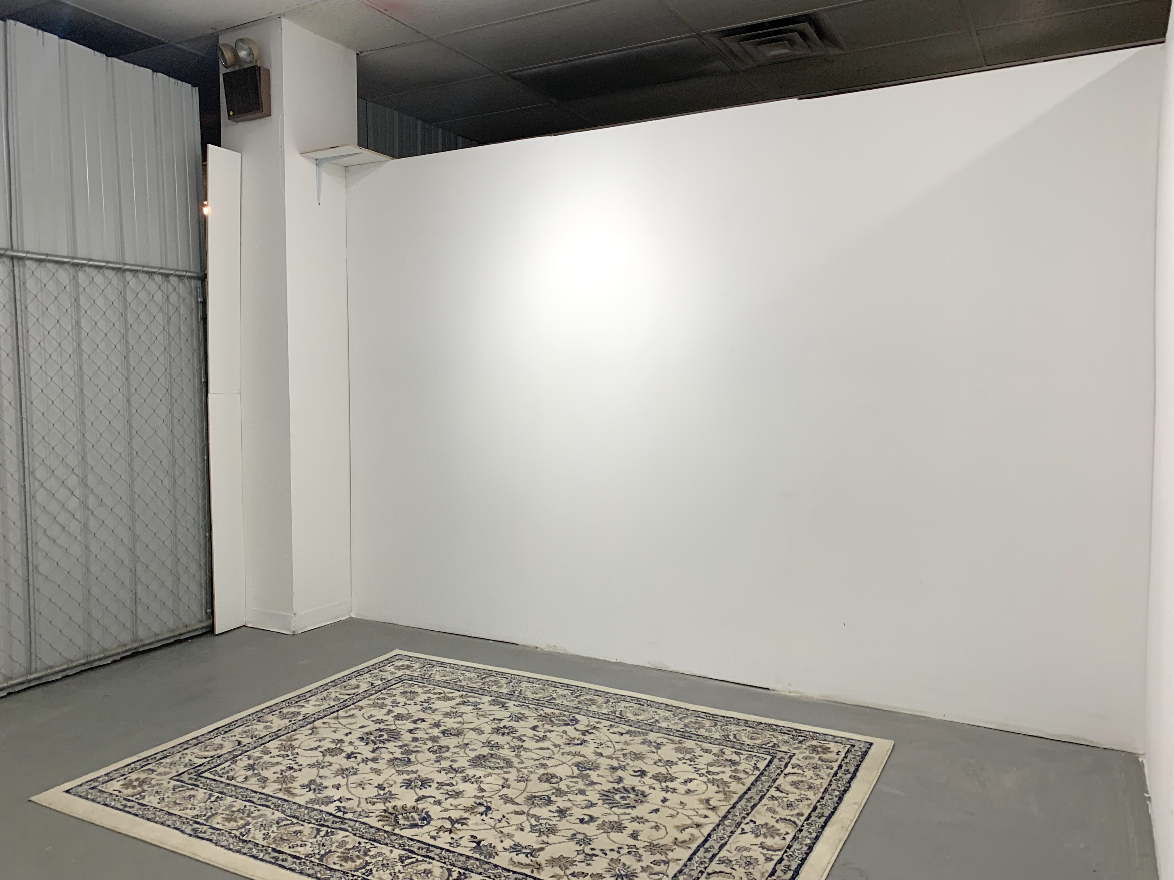 empty exhibition space
