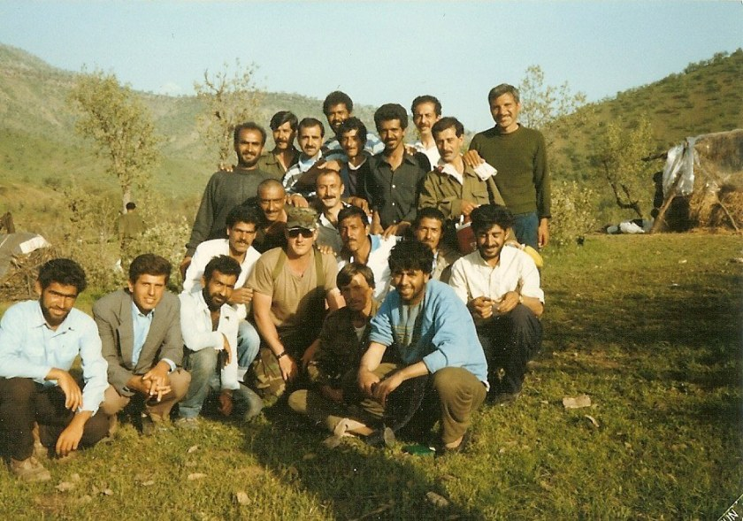 Thomas Churbuck in Kurdistan c. 1991
