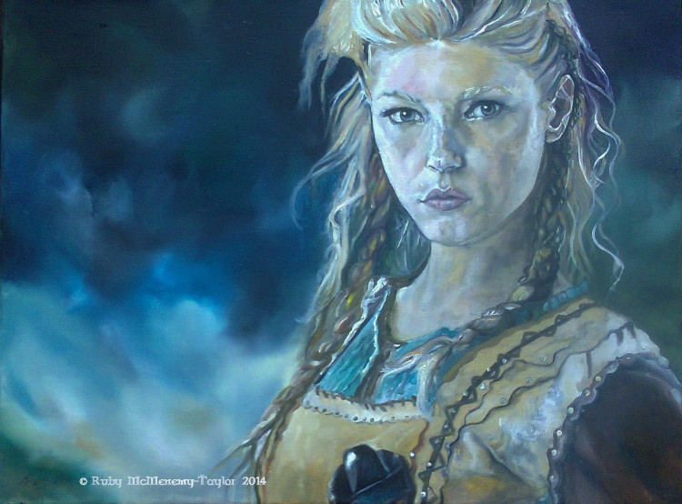 """Lagertha"" by Ruby McMenemy-Taylor"