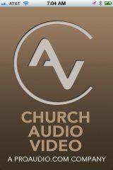 Church Audio Video iPhone App Screenshot 1