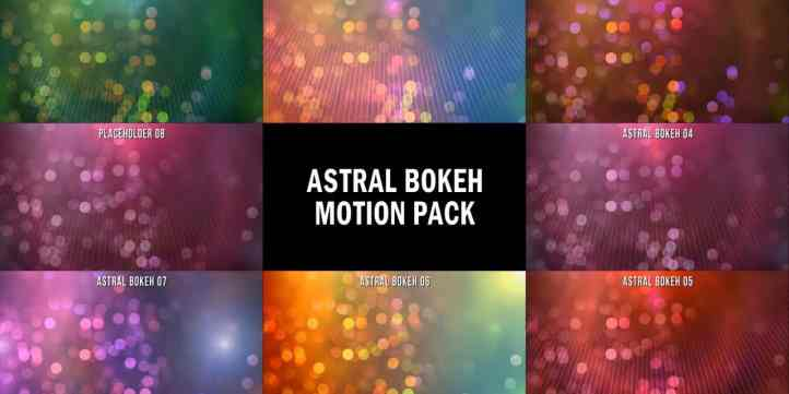 Astral Bokeh Motion Pack