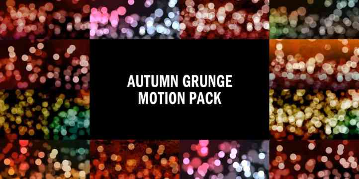 Autumn Grunge Motion Pack