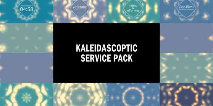 Kaleidascoptic Service Pack Preview