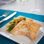 Frozen Salmon en Croute