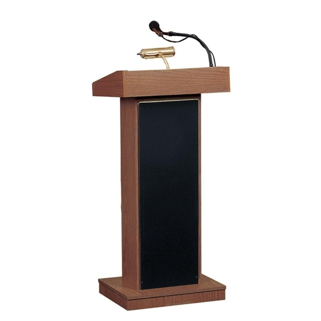 Oklahoma Sounds 800x Orator Floor Lectern With Built In