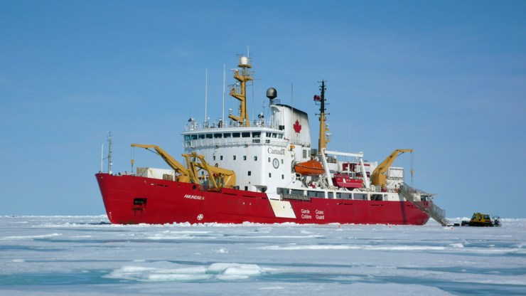 Spring research program will be conducted on the Canadian Research Icebreaker CCGS Amundsen.