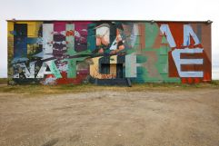 Mural Artist: Askew One. Tre Pakard photo..
