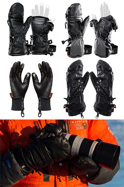 Heat Layer System Photography Gloves. TheHeatCompany.us. Options that work.