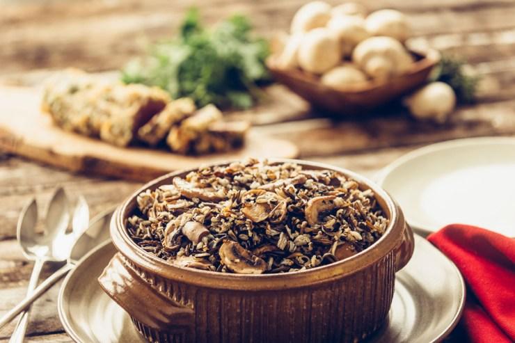 Marie's Wild Rice Casserole Supreme. Ian McCausland photo. Click image for recipe.