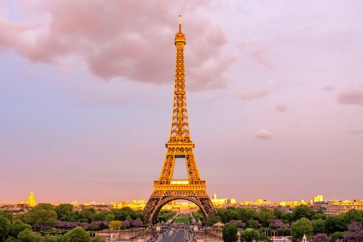 My Holy Grail of landmarks, the Eiffel Tower. Photo by Eugene Dorosh.