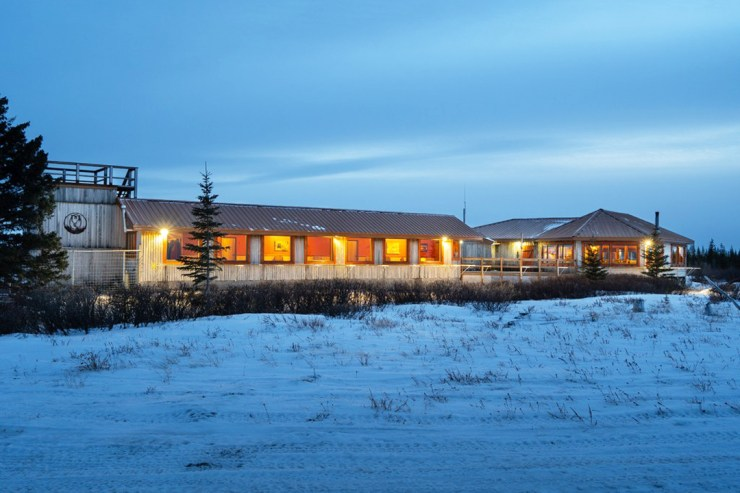 Nanuk Polar Bear Lodge. Deep in the heart of polar bear territory. Scott Zielke photo.