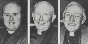 LAMONT WILTSEE presiding minister PAUL WOUDENBERG RLS chaplain, C. E. WILSON chaplain emeritus RLS .(The Herald Saturday September 12, 1987, 19)
