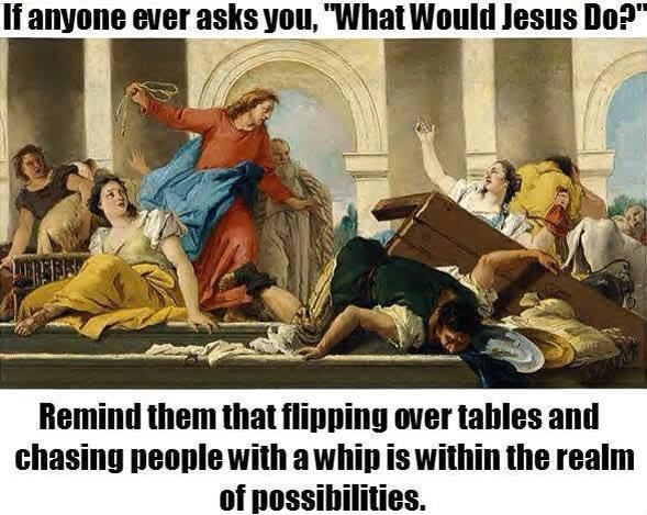 Jesus And Tables Meme Churchleaders