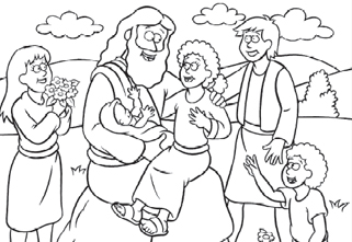 coloring pages jesus # 13