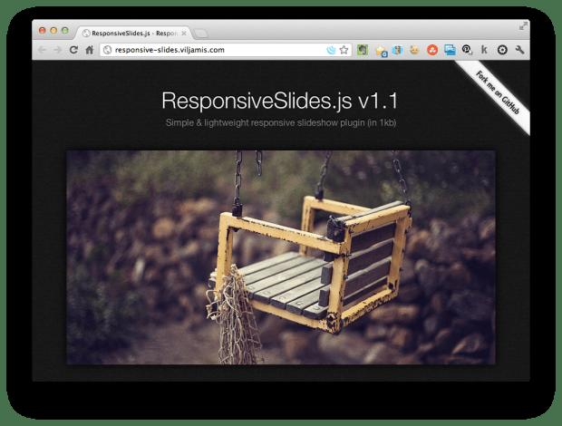 Responsive Slideshow JavaScript