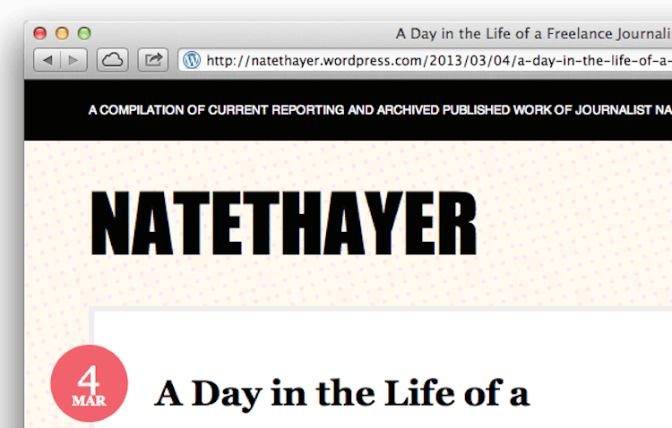 Nate Hayer, The Atlantic, And Why ChurchMag Pays Its Authors