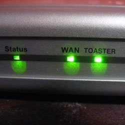 Toaster Router