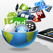 smartphone mobile apps store