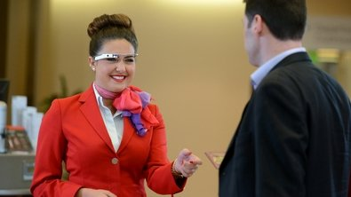 Airline Greets with Google Glass, Are Church Ushers Next?